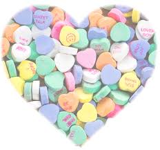 valentines heart candy 41 candy hearts clip clip library