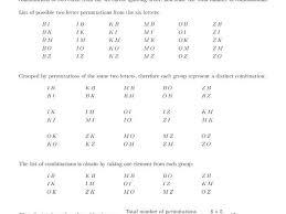 combinatorics permutations and combinations by joezhou teaching