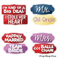 photo booth signs modern wedding bundle 10 sided prop signs 6mm pvc photo