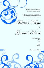 Free Invitation Card Design Printable Wedding Invitation Card Design Yaseen For