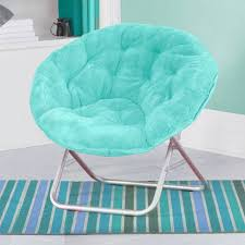 saucer chair cover mainstays faux fur saucer chair available in colors