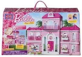 amazon com mega bloks barbie luxury mansion toys u0026 games