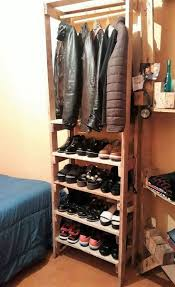 Hanging Closet Organizer Best 25 Hanging Closet Ideas On Pinterest Hanging Clothes