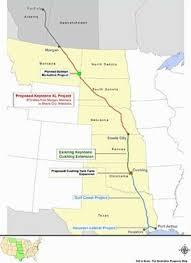 keystone xl pipeline map keystone xl pipeline would hasten climate change report ens