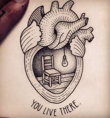 image result for anatomical heart sketch tattoo tattoo ideas