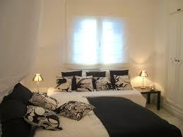 deco de chambre noir et blanc chambre noir blanc vert design de galerie et deco de chambre noir et