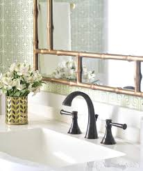 Standard Mirror Sizes For Bathrooms - oil rubbed bronze widespread bathroom faucet faucets mirror target