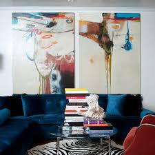 blue velvet sectional sofa blue velvet sofa contemporary living room kishani perera