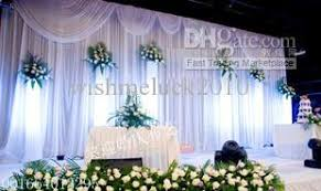 wedding backdrops for sale on sale ready made 6mx3m white wedding backdrop with white swag