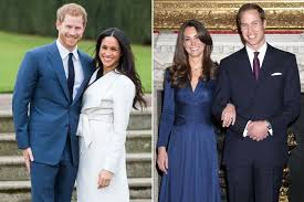meghan markle toronto address compare meghan markle and kate middleton u0027s engagement announcements