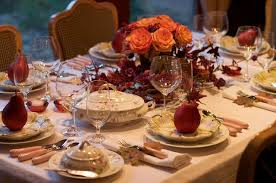 thanksgiving tables truly terrific settings savorsa