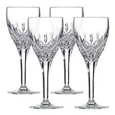 Royal Doulton Crystal Vase Royal Doulton Crystal Highclere Wine Set 4pce Peter U0027s Of
