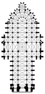 gothic cathedral floor plan visit amiens cathedral the largest gothic church in france