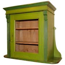 curio cabinet classic green wall hanging curio cabinet design