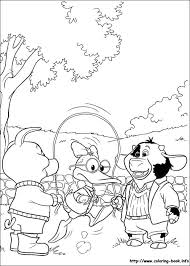 piggley winks coloring picture
