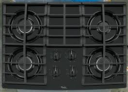 30 Inch 5 Burner Gas Cooktop Kitchen Excellent Whirlpool Wcg97us6ds 36 Inch 5 Burner Gas