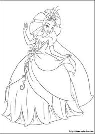 disney coloring princess frog share craft