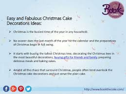 Christmas Cake Decorations Funny by Fun And Easy Christmas Cake Decorations That You Can Try At Home