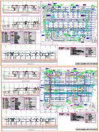 building services commercial building basement parking plan n design