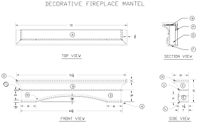 how to build a decorative fireplace mantel woodworking plans