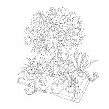 johanna basford coloring pages magical jungle the canopy
