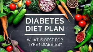 diabetes diet plan u2014 what is best for type 1 diabetes youtube
