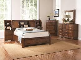 Transitional Bedroom Furniture by Medium Oak Finish Transitional Bedroom W Storage Bed U0026 Options