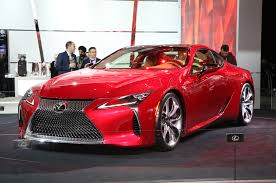 lexus lc 500 competition 2016 detroit auto show hits misses and revelations