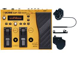 boss gp10gk guitar effects processor with roland gk3 pickup big