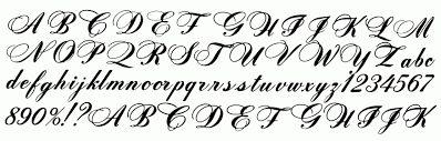 old english script letters gallery letter examples ideas