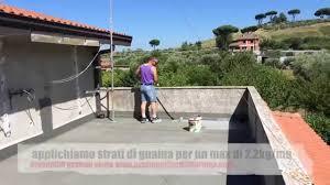 guaina trasparente per terrazzi come impermeabilizzare terrazzi e balconi