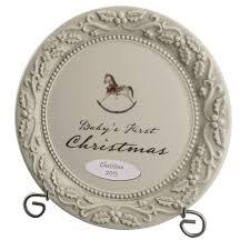keepsake plate christmas personalized keepsake plate
