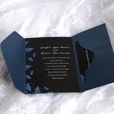 Black Wedding Invitations Pocket Wedding Invitations Uk Cheap Pocket Wedding Cards