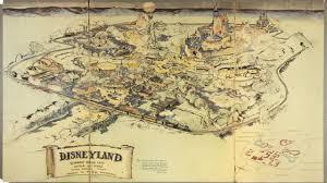 Marvel Universe Map Walt Disney U0027s Original Hand Drawn Map Of Disneyland Re Discovered