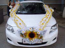 wedding car decorations wedding car decoration