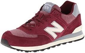 amazon customer reviews new balance mens 574 amazon com new balance men s ml574 pennant pack running shoe shoes