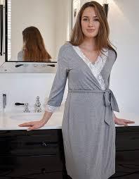 robe de chambre grossesse robe de chambre grossesse gris clair seraphine