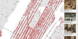 Map Street View A Beautiful Google Street View Map Of New York City In The 1800s