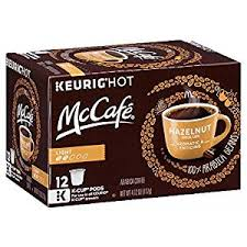 light roast k cups amazon com mccafé hazelnut flavored coffee light roast k cup pods