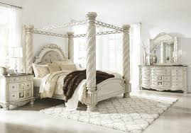 king poster bedroom set cassimore 6 piece king poster bedroom set