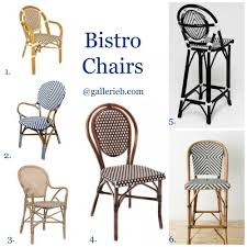 stunning french outdoor bistro chairs bistro chairs gallerie b
