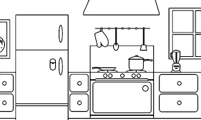 strikingly design ideas kitchen coloring kitchen coloring