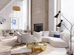 mid century modern apartment u0027s living room designs u2013 living room ideas