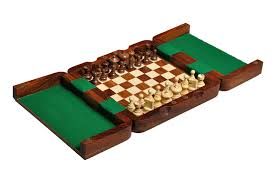 ultimate wooden magnetic travel chess set house of staunton