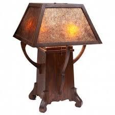 mission style desk lamp foter