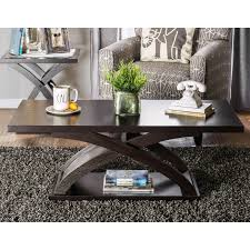 accent furniture tables furniture of america monte accent coffee table espresso hayneedle
