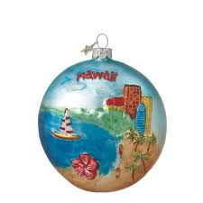 80 best hawaiian trees ornaments images on