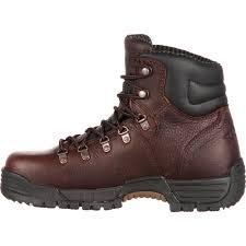 womens boots work rocky mobilite steel toe comfort waterproof work boot