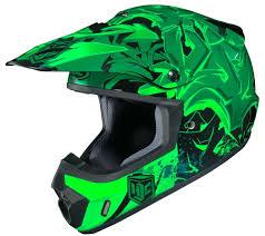green motocross gear 89 99 hjc cs mx 2 csmx ii graffed motocross mx off road 231639