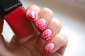 in samazement valentines nail art 1 pink and red ombré with
